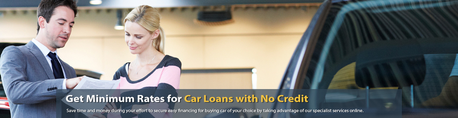 how can i get a car loan with no credit